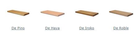 Tabica de madera maciza de roble para escalera pelda os - Peldanos de madera para escalera ...