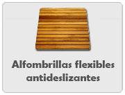 Alfombrillas flexibles antideslizantes (tarimas para ducha)