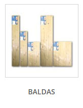 Baldas - Estantes de madera