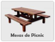 Mesas de Picnic en Kit (desmontables)