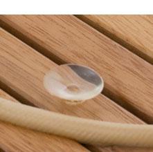 Tarima para ducha ovalada con ventosas 69 x 42 cm