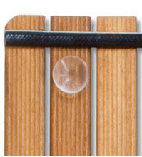 Tarima para ducha con ventosas (69 x 69 cm)