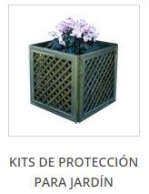 Kits de protección para jardín